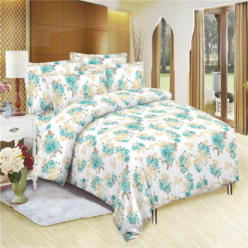 Good Quality Brushed Microfiber Dispersed Printed Fabric